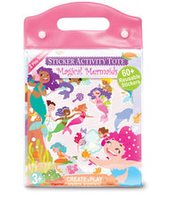 Sticker World Activity Tote - Magical Mermaids