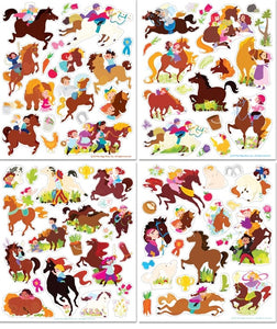 Sticker World Activity Tote - Horse Play