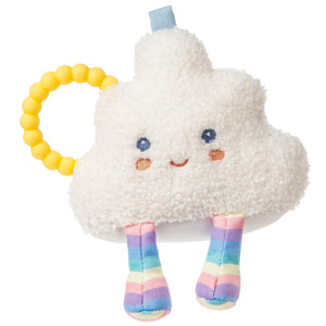 Puffy Cloud Rattle Teether - 6""