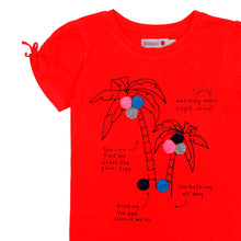 Cherry Palms Girl Tee