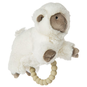 Luxey Lamb Teether Rattle – 6″