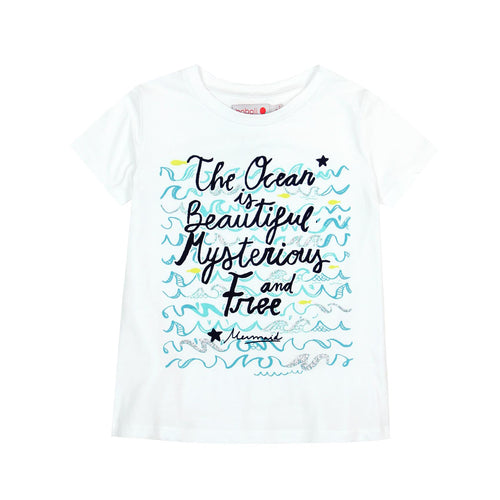 7yrs - Ocean Waves Girls Tee