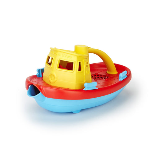 Tug Boat - Yellow Handle