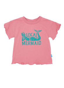 Local Mermaid Flutter Tee
