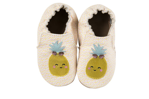 Beige Happy Fruit Soft Soles