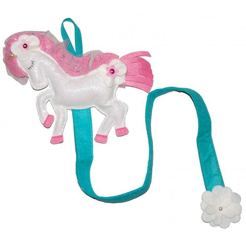Come Fly With Me White Unicorn Clip Keeper