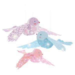 Glitter Birds Airy Mobile Room Decoration
