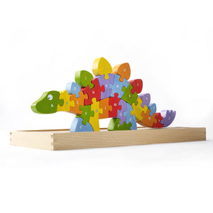 A to Z Puzzle - Dinosaur
