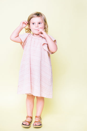 Blush Flutter Dress