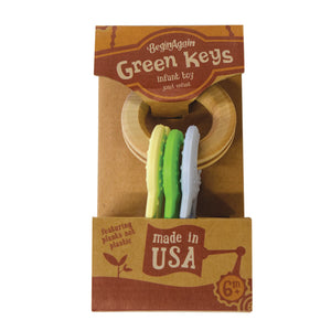 Green Keys - Clutching Toy