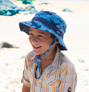 Boy's Reversible Bucket Hat - Reef
