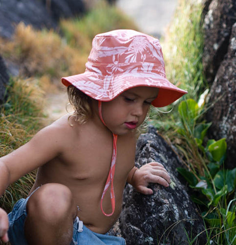 Boy's Reversible Bucket Hat - Alfie