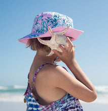 Girl's Reversible Bucket Hat - Oasis