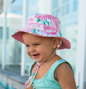 Baby Girl's Reversible Bucket Hat - Gabi