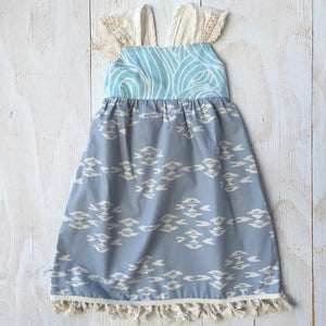 MADE IN HAWAII Aztec Azul Dress