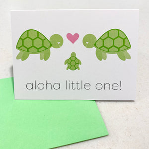 MADE IN HAWAII - Single Notecard with Envelope (10 various prints)