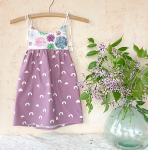 MADE IN HAWAII Watercolor Succulent Dress