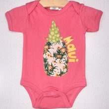 MADE IN HAWAII - Pink Organic Cotton Onesies (5 variants)