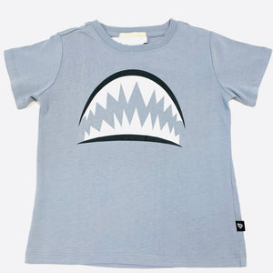 Shark Teeth Dusty Blue T-Shirt