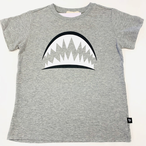 Shark Teeth Grey T-Shirt