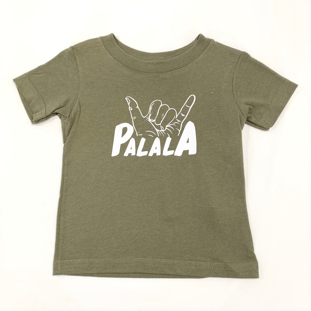 Hawaiian Print Tee - Palala (Brother)