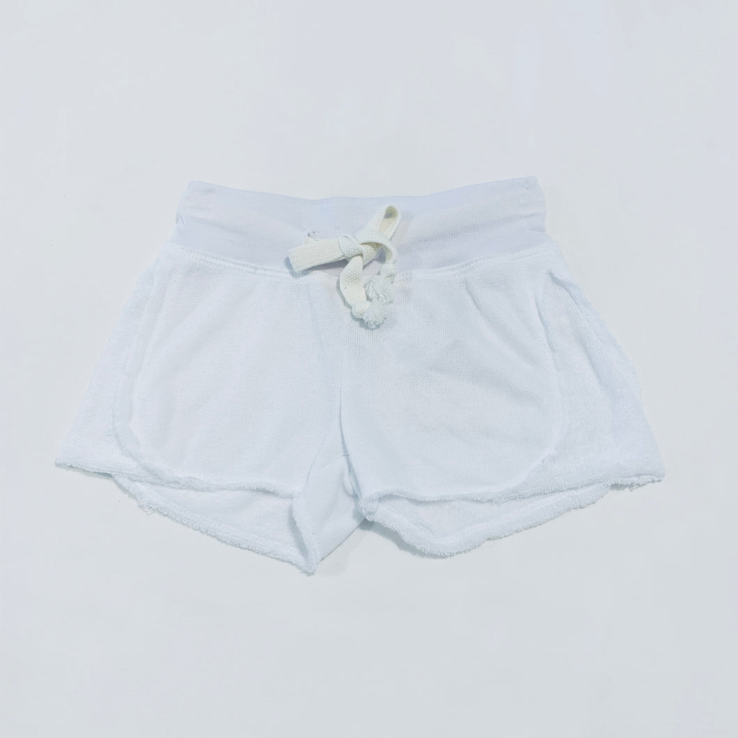 White Reversible Contrast Short