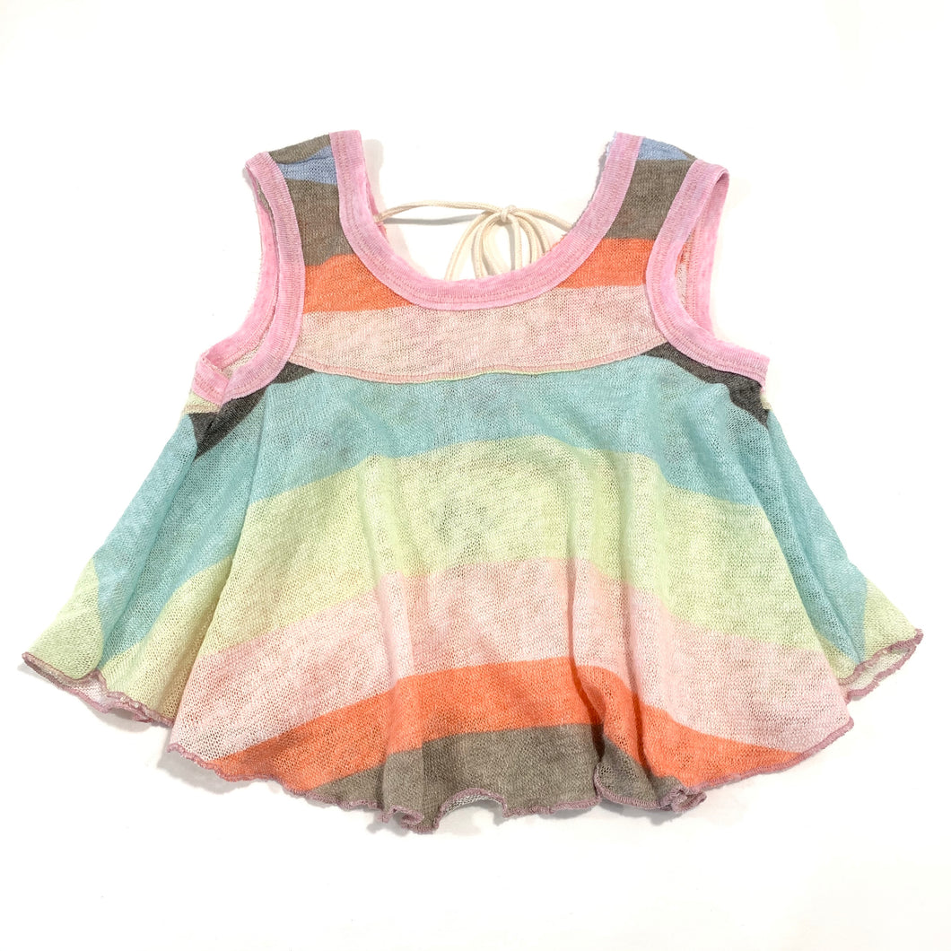 Rainbow Tie Back Swing Tank