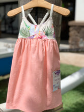 MADE IN HAWAII Droplets. Exclusive - Peach Dress