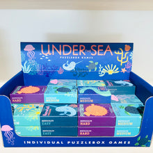 Puzzle Matchbox Under the Sea - 6 variants