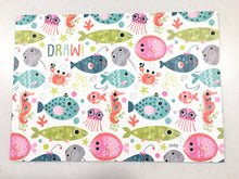 Blank Sketchbook - Friendly Fish single (2 Variant Styles)