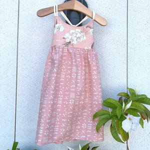 MADE IN HAWAII Orchids in Blush Dress