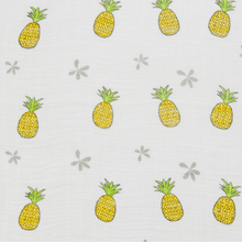 Pineapple of my Eye Hawaiian Aloha Theme Bamboo Cotton blend Blanket