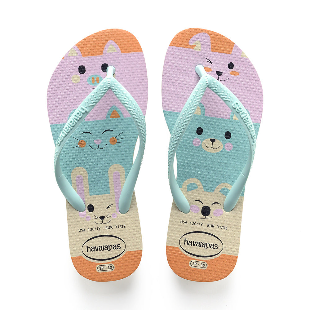 Kids Slim Fun Sandal - Beige