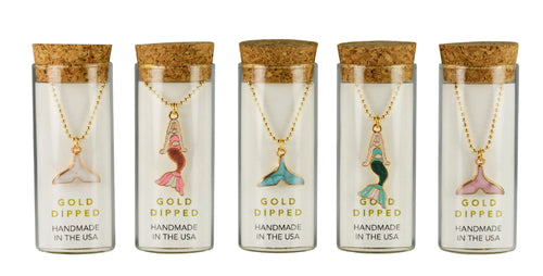 Charming Necklace in a Bottle - Mermaid Collection