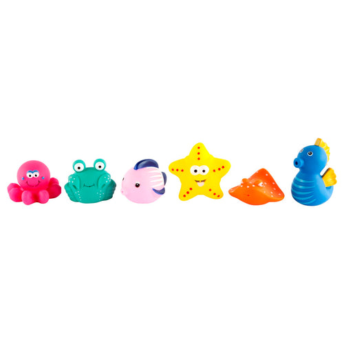 Bath Squirties set of 6