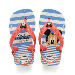 4C - Baby Disney Mickey Mouse - White/Strawberry