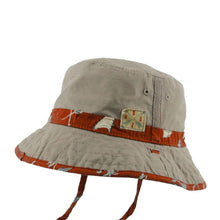 Boy's Reversible Bucket Hat - Malakai Red
