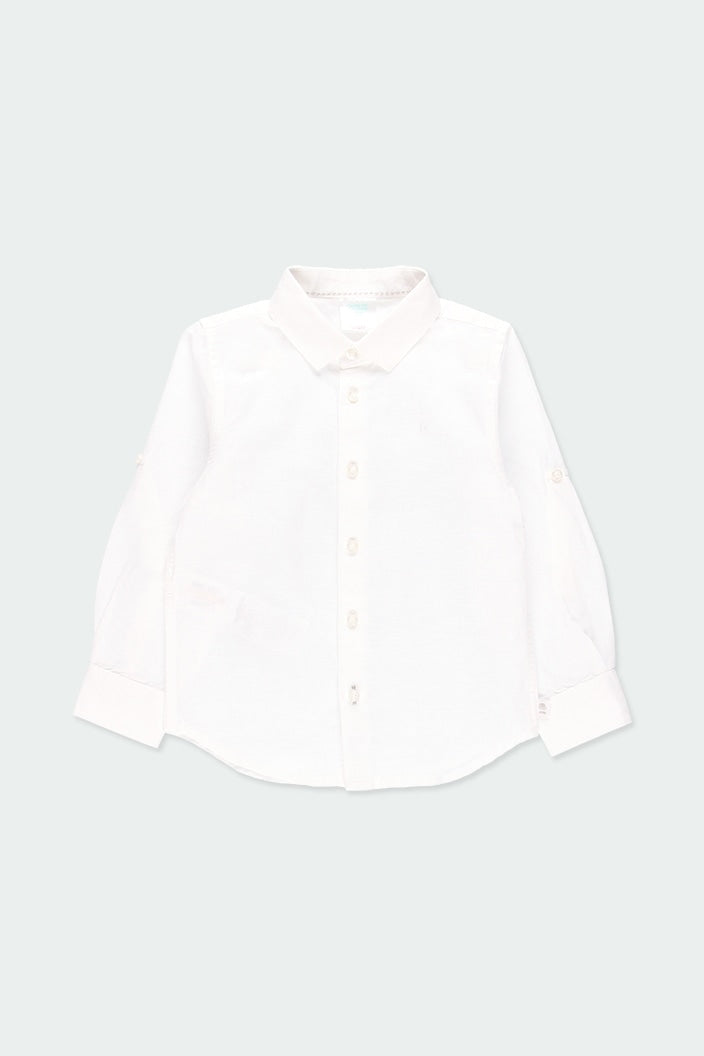 Linen Shirt in White