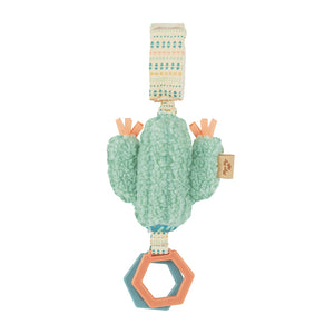 Jingle Cactus Attachable Travel Toy