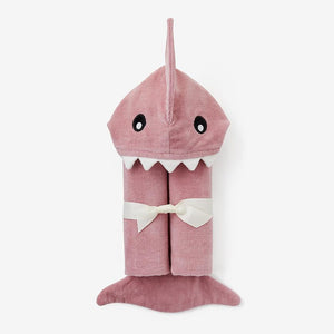 Baby Shark Hooded Bath Wrap