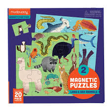 Magnetic Puzzles - Land and Sea