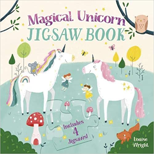 Magical Unicorn JIGSAW Book