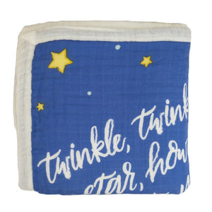 Twinkle Twinkle Little Hoku Hawaiian Bamboo and Cotton blend Quilt