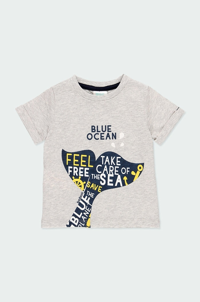 Knit Tee with Whale Tale