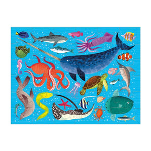 Puzzle To Go Ocean Life - 36 pc Puzzle