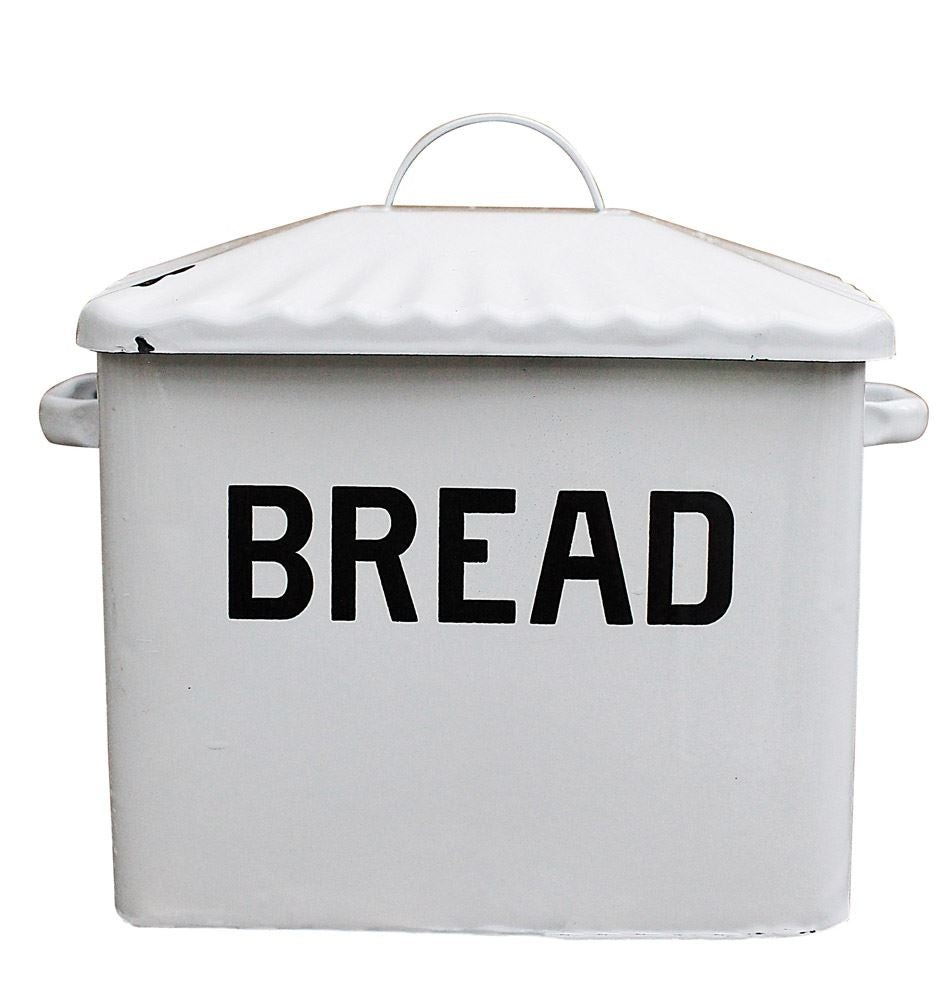 Enameled Bread Box