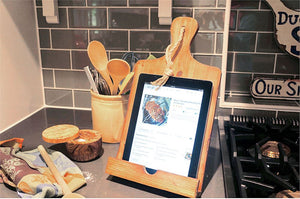 Wood Tablet Holder