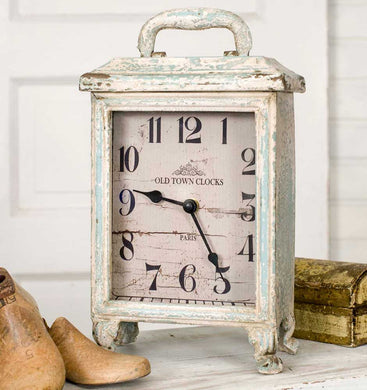 Rustic Carriage Clock