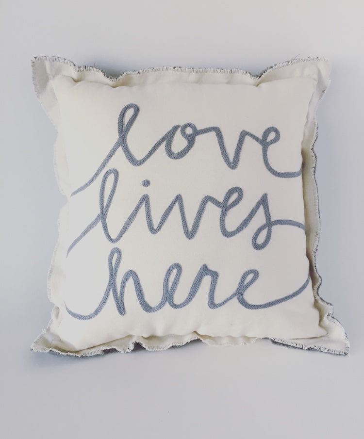 Love Lives Pillow