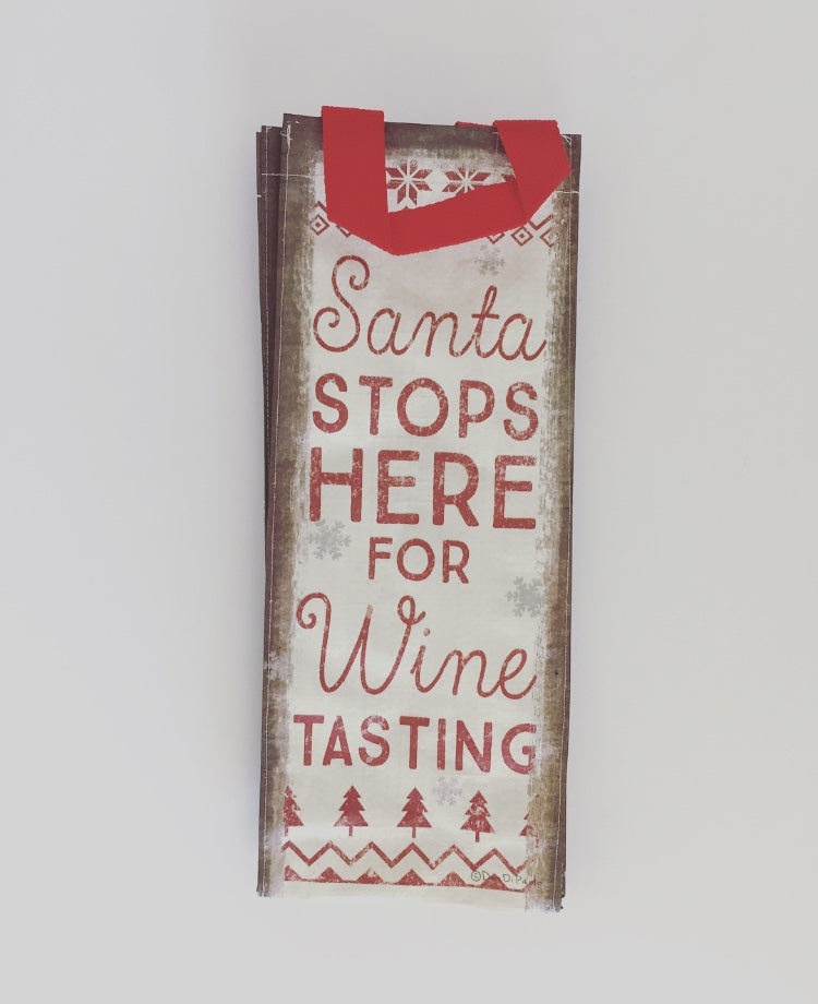 Seasonal Wine Tote